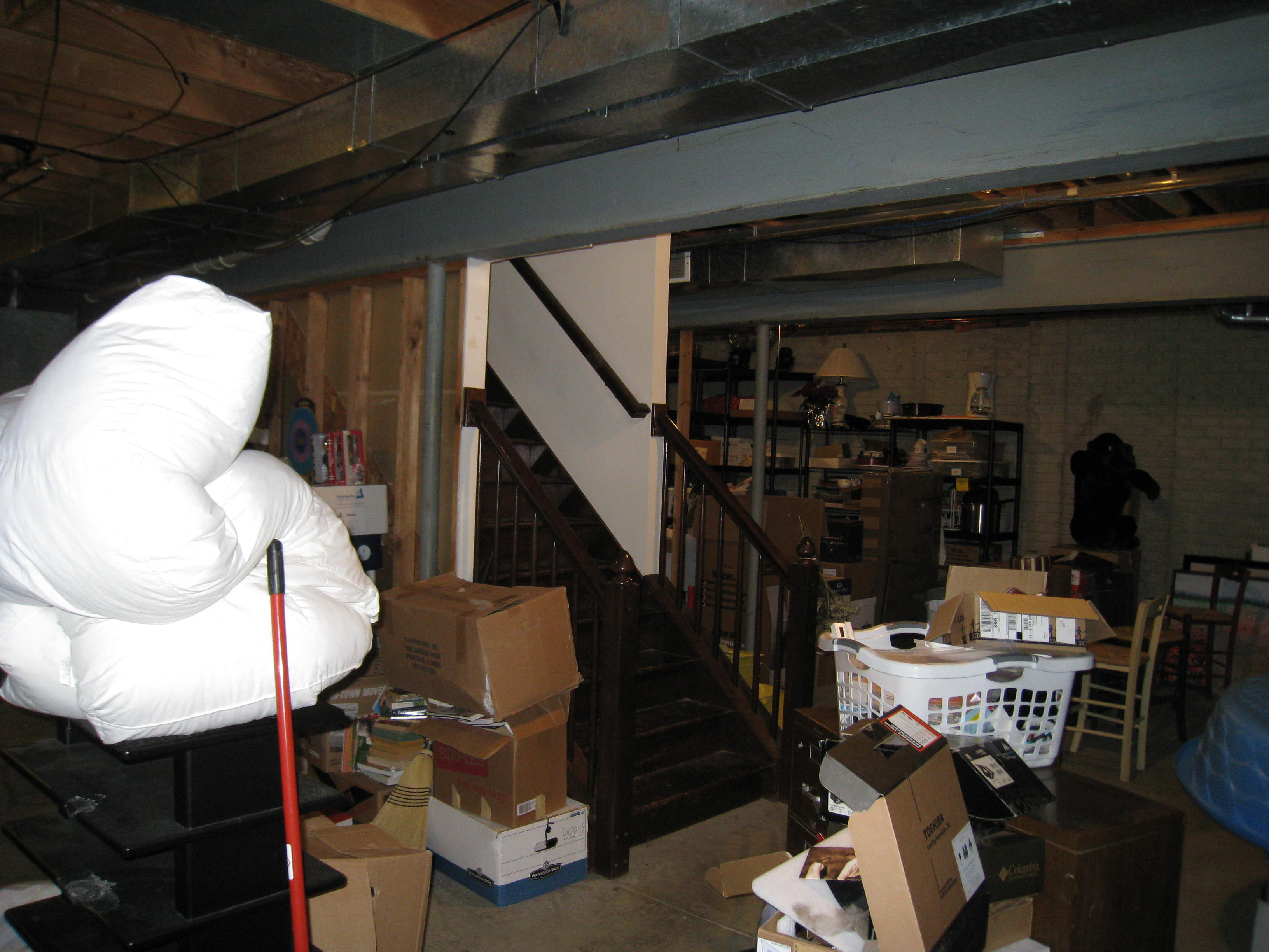 Pub And Party Basement  Heflin Remodeling - Dark creepy basement